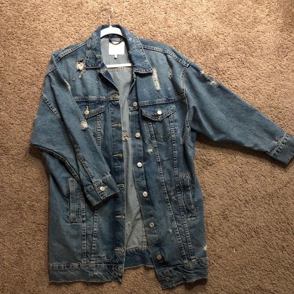 4b7a29e0 Long Length Zara Denim Jacket